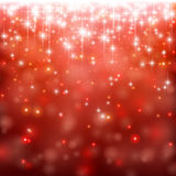 Christmas red abstract background. Stock Photos