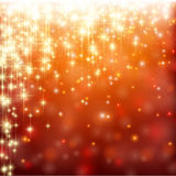 Christmas red abstract background. Royalty Free Stock Image