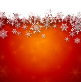 Christmas red abstract background. Stock Image