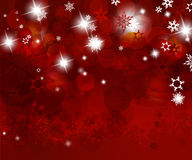 Christmas red background. Stock Images