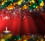 Christmas  Red background Royalty Free Stock Photo
