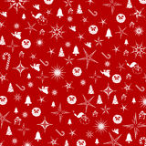 Christmas red background. Stock Image