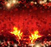 Christmas red background Stock Photography
