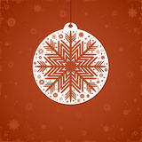Christmas red background. Royalty Free Stock Photo