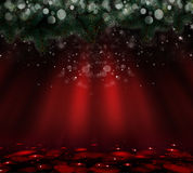 Christmas  Red background Stock Images