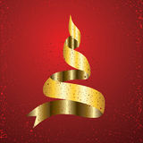 Christmas red background Stock Photo