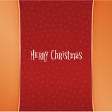 Christmas red Background with white Snowflakes Royalty Free Stock Photos
