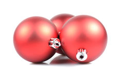 Christmas Red Ball Royalty Free Stock Photography