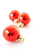 Christmas  red balls Royalty Free Stock Photos