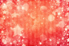 Christmas red bokeh background Royalty Free Stock Photos