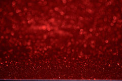 Christmas red bokeh background.  The concept of love , Valentine Royalty Free Stock Photography