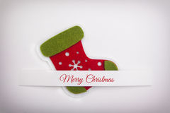 Christmas Red Boot Royalty Free Stock Images