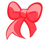 Christmas Red Bow royalty free stock images
