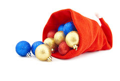 Christmas red cap Royalty Free Stock Photos
