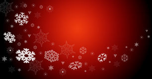 Christmas red card Royalty Free Stock Photography