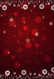 Christmas red card. Abstract backdrop background bow card celebration christmas royalty free stock image