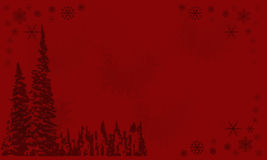 Christmas red frame Royalty Free Stock Images