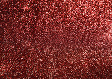 Christmas red glitter shiny abstract paper background Stock Images