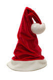 Christmas red hat. Christmas small red hat of Santa Stock Photos