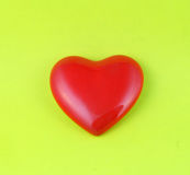 Christmas red heart Royalty Free Stock Photo