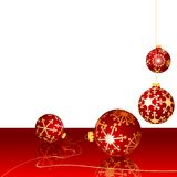 Christmas Red Layout Royalty Free Stock Photo