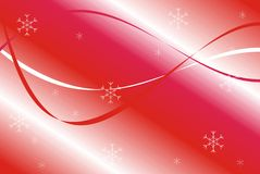 Christmas red pattern Stock Photos