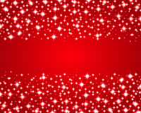 Christmas red shiny background Royalty Free Stock Image