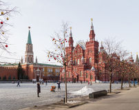 Christmas on Red Square Royalty Free Stock Images