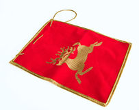 Christmas red stocking. Royalty Free Stock Photos