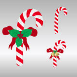 Christmas red and white sweets stick Stock Photo