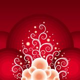 Christmas red-white theme Royalty Free Stock Photos