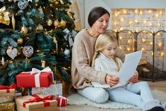 Christmas regards Stock Images