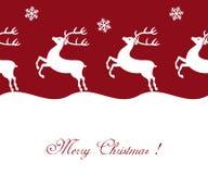 Christmas reindeer Stock Photography