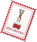 Christmas reindeer Stock Photography