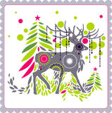 Christmas reindeer Royalty Free Stock Image