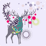 Christmas reindeer Royalty Free Stock Photo