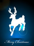 Christmas reindeer background Royalty Free Stock Images
