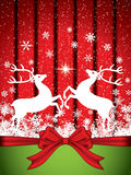 Christmas reindeer Stock Images
