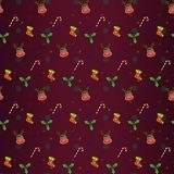Christmas Reindeer Festive Seamless Patterns