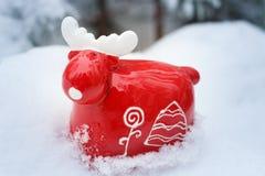 Christmas reindeer Royalty Free Stock Image