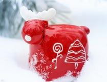 Christmas reindeer Royalty Free Stock Photos
