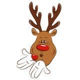 Christmas reindeer . Stock Images