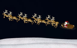 Christmas Reindeer Mulberry Stock Photography