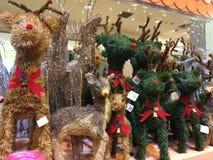 Christmas Reindeer For Sale Stock Photography
