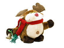 Christmas reindeer toy Royalty Free Stock Photography
