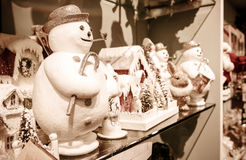 Christmas related merchandise Royalty Free Stock Photography