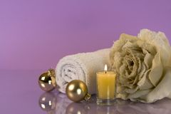 Christmas relaxation Royalty Free Stock Photo