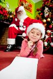 Christmas requests Stock Photography