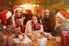 Christmas rest Stock Image