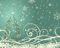 Christmas retro Stock Images